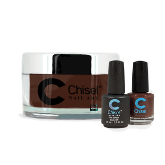 CHISEL COMBO 3 IN 1: DIP + GEL + LACQUER - SOLID 6