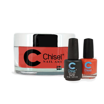 CHISEL COMBO 3 IN 1: DIP + GEL + LACQUER - SOLID 8