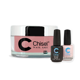 CHISEL COMBO 3 IN 1: DIP + GEL + LACQUER - SOLID15