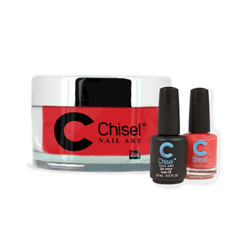 CHISEL COMBO 3 IN 1: DIP + GEL + LACQUER - SOLID16