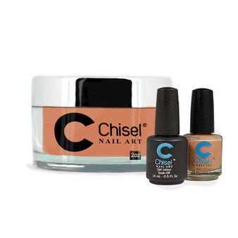 CHISEL COMBO 3 IN 1: DIP + GEL + LACQUER - SOLID90