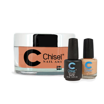 CHISEL COMBO 3 IN 1: DIP + GEL + LACQUER - SOLID96