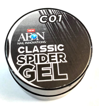 Aeon Spider Gel 8g - Black Color C01