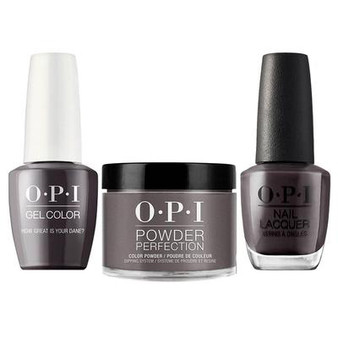 OPI COMBO 3 IN 1 - DGLN44 - How Great Infinite Shine Your Dane