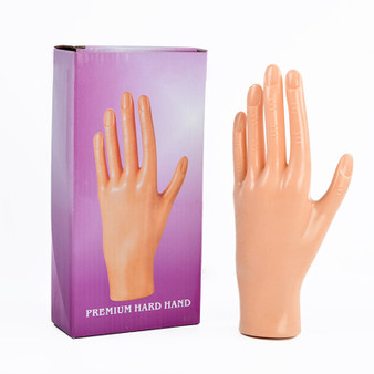 Reuseable Hard Nail Practice Hand