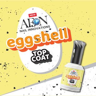 Aeon Egg Shell Gel Top Coat 0.5oz