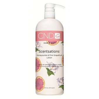 CND Hand & Body Lotion Honeysuckle & Pink Grapefruit 31oz