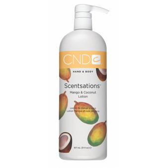 CND Hand & Body Lotion Mango & Coconut 31oz
