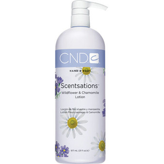 CND Hand & Body Lotion Wildflower & Chamomile 31oz
