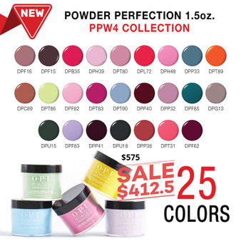 Opi Dipping Powder PPW4 Collection 25 Colors