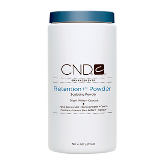 CND - RETENTION+® SCULPTING POWDERS - BRIGHT WHITE - OPAQUE 32 Oz. / 907 g