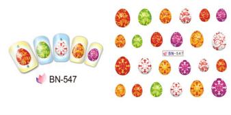 Nail Sticker BN-547 1pcs/paperbag