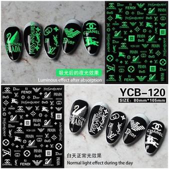 Nail Sticker Glow YCB-120