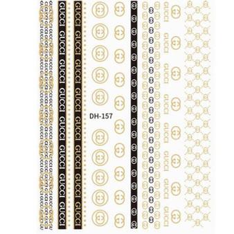 Nail Sticker Brand Name DH-154