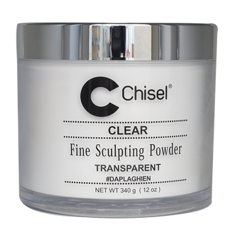 Chisel Fine Sculpting Powder 12 oz - Clear