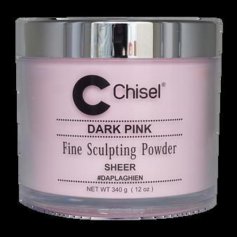 Chisel Fine Sculpting Powder 12 oz - Dark Pink