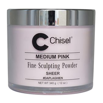 Chisel Fine Sculpting Powder 12 oz - Medium Pink