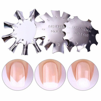 Easy French Tip Cut