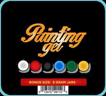 MS Painting Gel Kit - 6 Colors x 8g
