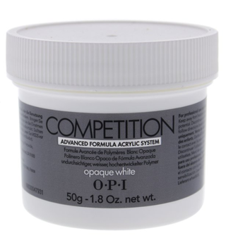 OPI Competition Powder Opaque White 1.8oz