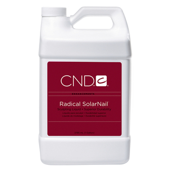 CND - RADICAL SOLARNAIL® SCULPTING LIQUID GALLON. / 3785 mL