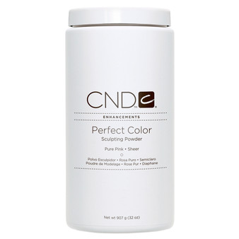 CND - PERFECT COLOR SCULPTING POWDERS - PURE PINK - SHEER 32 Oz. / 907 g