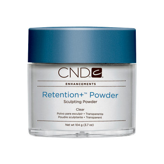 CND - RETENTION+® SCULPTING POWDERS - CLEAR 3.7 Oz. / 104 g