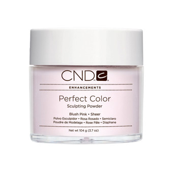 CND - PERFECT COLOR SCULPTING POWDERS - BLUSH PINK - SHEER 3.7 Oz. / 104 g