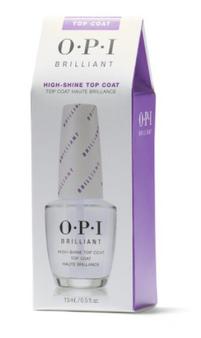 OPI Brilliant High-Shine Top Coat 0.5oz