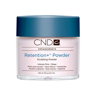 CND - RETENTION+® SCULPTING POWDERS - INTENSE PINK - SHEER 3.7 Oz. / 104 g