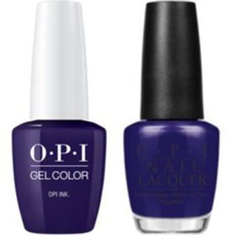 OPI Matching Set OPI Ink B61