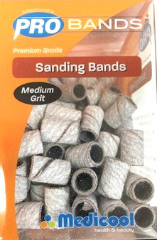 Medicool Pro Bands White Sanding Bands (Medium)