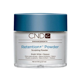 CND - RETENTION+® SCULPTING POWDERS - BRIGHT WHITE - OPAQUE 3.7 Oz. / 104 g