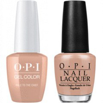 OPI Matching Set Pale to The Chief W57