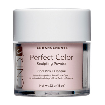 CND - PERFECT COLOR SCULPTING POWDERS - COOL PINK - OPAQUE 0.8 OZ