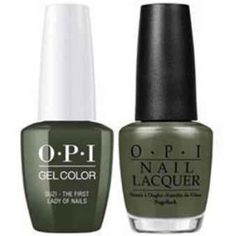 OPI Matching Set Suzi The First Lady Of Nails W55