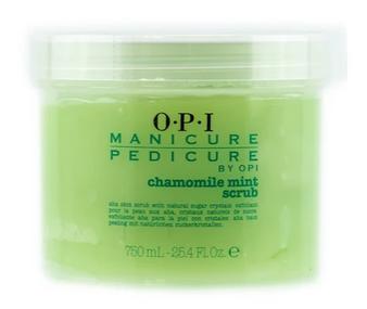 OPI Manicure Pedicure Chamomile Mint Scrub 25.4oz