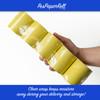 """3 1/8"""" x 230' Thermal Receipt Paper Rolls (50 rolls) - Yellow"""