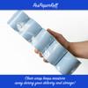 """3 1/8"""" x 230' Thermal Receipt Paper Rolls (50 Rolls) - Blue"""