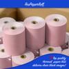 """3 1/8"""" x 230'  Thermal Receipt Paper Rolls (50 Rolls) - Pink"""
