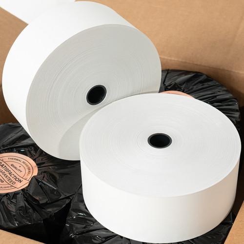 "2 1/4"" x 675' Heavy Weight ATM Thermal Receipt Paper Rolls  (8 rolls)"