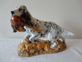 Marple Antiques Royal Doulton English Setter with Pheasant