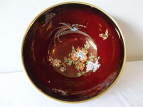 Marple Antiques Carlton Ware Bowl Rouge Royale