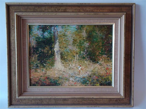 Marple Antiques Dale Marsh 'In the Shimmering Mid-Summer Light'