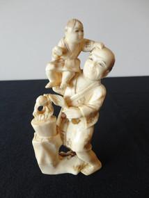Marple Antiques Japanese Meiji Period Ivory Figure Group