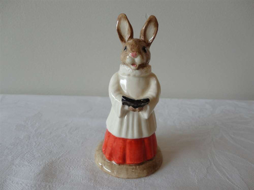 Marple Antiques Royal Doulton Bunnykin Choir Singer