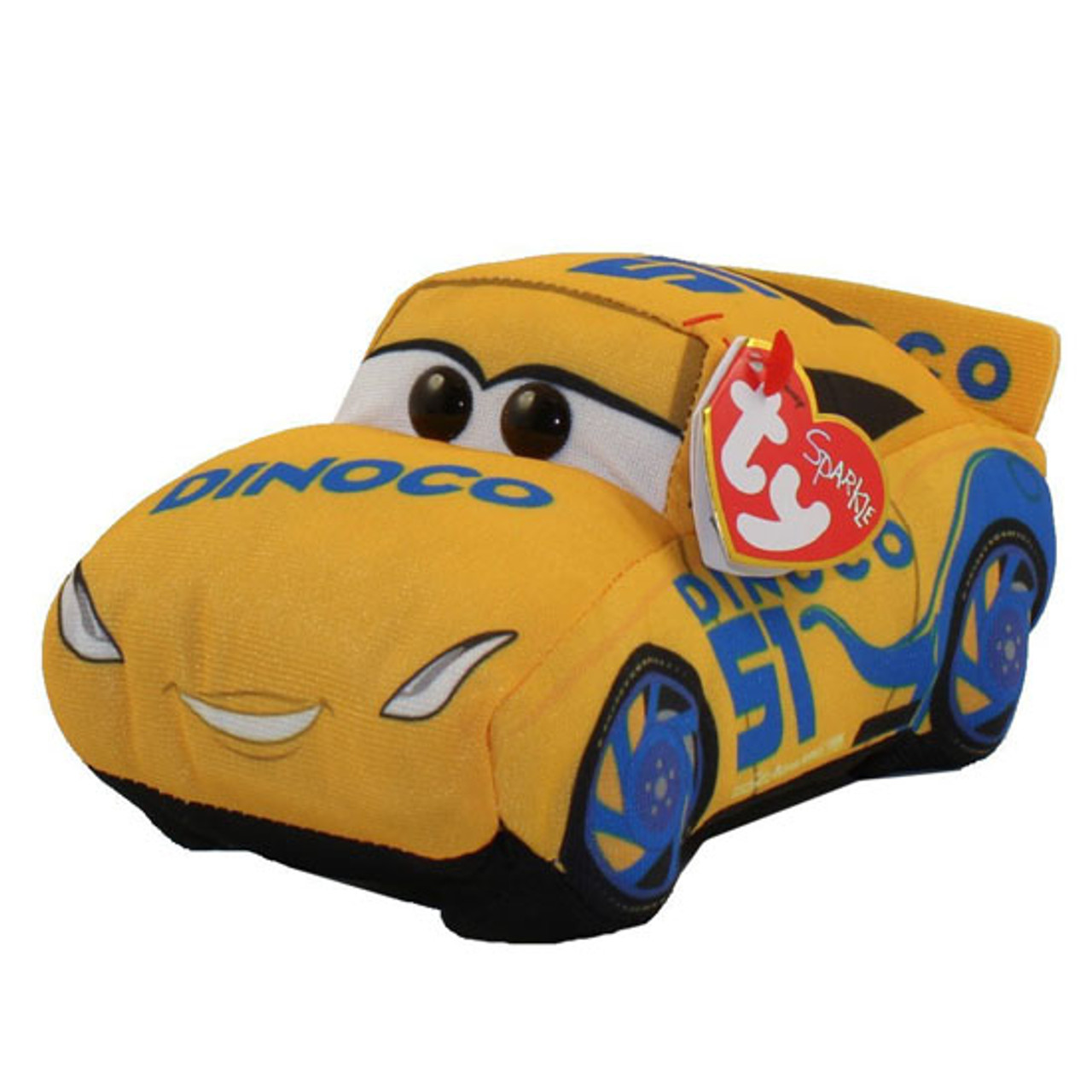Ty Beanie Buddies Cars 3 Cruz Ramirez Small Official Retailer