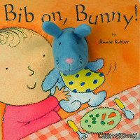Child's Play Puppet Chatterbox - Bib On, Bunny!