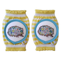Crawlings Baby Knee Pad - Lemonchello Porcupine