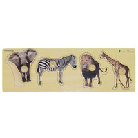 edushape Giant Puzzle - Wild Animals